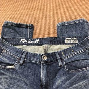 Madewell skinny skinny highrise size 28
